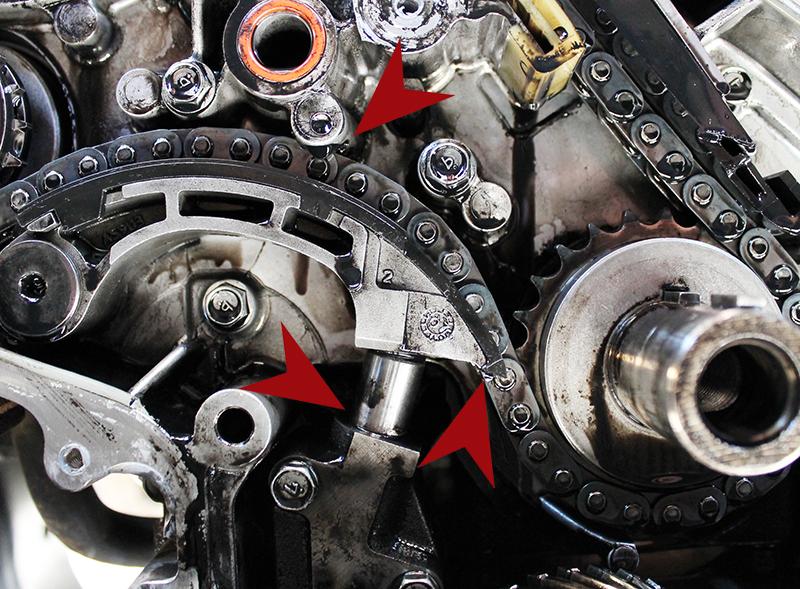 Nissan's YD25 Single Row Timing Chain Failures